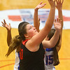 1-10-20<br /> Kokomo vs Logansport girls basketball<br /> Logansport's Emilee Cripe heads to the basket.<br /> Kelly Lafferty Gerber | Kokomo Tribune