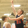 1-24-20<br /> Northwestern vs Cass boys basketball<br /> Cass' Tyson Johnson shoots.<br /> Kelly Lafferty Gerber | Kokomo Tribune