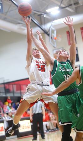 1-17-20<br /> Taylor vs CC boys basketball<br /> Taylor's Nathan Keene shoots.<br /> Kelly Lafferty Gerber | Kokomo Tribune
