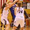 1-16-20<br /> Western vs Carroll girls basketball<br /> <br /> Kelly Lafferty Gerber | Kokomo Tribune