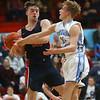 1-31-20<br /> Maconaquah vs Cass boys basketball<br /> Cass' Austin Holt and Mac's Brayden Betzner go after a rebound.<br /> Kelly Lafferty Gerber | Kokomo Tribune