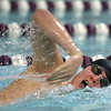 1-28-20<br /> Northwestern vs Western swimming<br /> Western's Cullen Dalpoas in the boys 200 yard freestyle.<br /> Kelly Lafferty Gerber | Kokomo Tribune