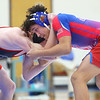 1-15-20<br /> Kokomo vs Eastbrook wrestling<br /> Kokomo's Jaquan East defeats Michael Friedrichsen in the 145.<br /> Kelly Lafferty Gerber | Kokomo Tribune