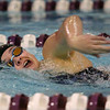1-28-20<br /> Northwestern vs Western swimming<br /> Western's Anna Moore in the girls 200 yard freestyle.<br /> Kelly Lafferty Gerber | Kokomo Tribune