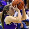 Northwestern's Ellie Boyer puts up a shot as Western High School hosts Northwestern girls basketball on January 21, 2020.<br /> Tim Bath | Kokomo Tribune