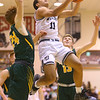 1-25-20<br /> Western vs Eastern boys basketball<br /> Western's Nathaniel Liddell puts up a shot.<br /> Kelly Lafferty Gerber | Kokomo Tribune