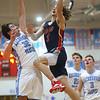 1-31-20<br /> Maconaquah vs Cass boys basketball<br /> Cass' Easton Good puts up a shot.<br /> Kelly Lafferty Gerber | Kokomo Tribune