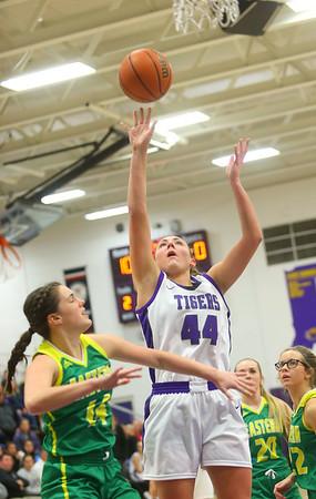 1-8-20<br /> Northwestern vs Eastern girls basketball<br /> NW's Kendall Bostic puts up a shot.<br /> Kelly Lafferty Gerber | Kokomo Tribune