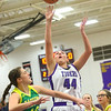 1-8-20<br /> Northwestern vs Eastern girls basketball<br /> NW's Kendall Bostic puts up a shot.<br /> Kelly Lafferty Gerber | Kokomo Tribune