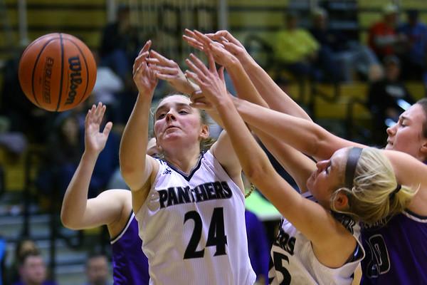 Western High School hosts Northwestern girls basketball on January 21, 2020.<br /> Tim Bath   Kokomo Tribune