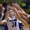 Western High School hosts Northwestern girls basketball on January 21, 2020.<br /> Tim Bath | Kokomo Tribune