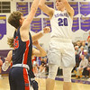 1-24-20<br /> Northwestern vs Cass boys basketball<br /> NW's Austin O'Neal shoots.<br /> Kelly Lafferty Gerber | Kokomo Tribune
