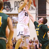 1-25-20<br /> Western vs Eastern boys basketball<br /> Western's Kyle Sanders shoots.<br /> Kelly Lafferty Gerber | Kokomo Tribune