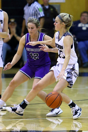 Western High School hosts Northwestern girls basketball on January 21, 2020.<br /> Tim Bath | Kokomo Tribune