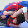 1-15-20<br /> Kokomo vs Eastbrook wrestling<br /> Kokomo's Mitchell Wyrick defeats Eastbrook's Wyatt Garrison in the 182.<br /> Kelly Lafferty Gerber | Kokomo Tribune