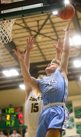 1-7-20<br /> Eastern vs Maconaquah boys basketball<br /> Mac's Kolson Silcox puts up a shot.<br /> Kelly Lafferty Gerber | Kokomo Tribune