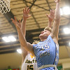 1-7-20<br /> Eastern vs Maconaquah boys basketball<br /> Mac's Kolson Silcox puts up a shot.<br /> Kelly Lafferty Gerber | Kokomo Tribune