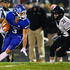 Tipton defeats Lapel in the sectional final 28-20 on Nov. 6, 2020. Dakota Foerg catching a long pass that led to Tipton's first of four touchdowns.<br /> Tim Bath | Kokomo Tribune