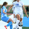 10-1-20<br /> Maconaquah vs Kokomo girls soccer<br /> Kokomo's Kate Mayfield makes a kick around Mac's Molly Nord.<br /> Kelly Lafferty Gerber   Kokomo Tribune