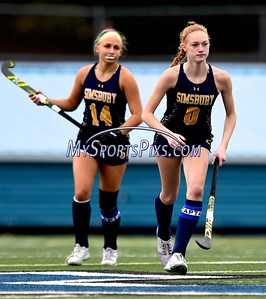 10/21/2020 @Mike  Orazzi Simsbury High School's Caroline Westhaver (0) during field hockey action with Southington at Southington High School on Wednesday.