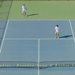 2021-04-13 Dixie HS Tennis vs Desert Hills - 2nd Doubles