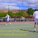 2021-04-15 Dixie HS Tennis vs Hurricane