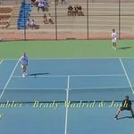 2021-04-13 Dixie HS Tennis vs Desert Hills - 1st Doubles