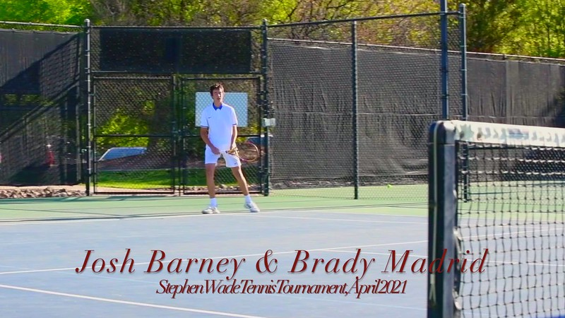 2021-04-16 Dixie HS Tennis - Stephen Wade Tournament - 1st Doubles_0002 (Adjusted Video)