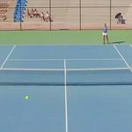 2021-09-16 Dixie HS Girls Tennis vs Cedar City HS - Kylie & Katelyn