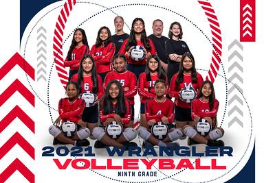 GJH 9th Grade Volleyball
