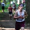 Winamac runner Kolbey Wegner (283) competes during the 2021 Jacob Graf Invitational at Logansport High School on Saturday, Aug. 21, 2021. Wegner would go on to place eighth.