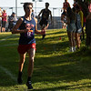 Lewis Cass runner Braxton Armstrong (12) competes during the 2021 Jacob Graf Invitational at Logansport High School on Saturday, Aug. 21, 2021. Armstrong placed 17th.