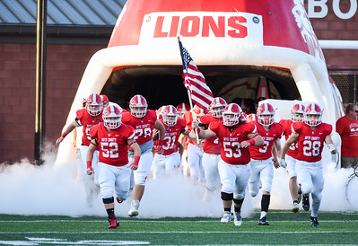 The Boyd County Lions take the field on Friday evening.  Boyd County hosted South Point to kickoff the season.  MARTY CONLEY/ FOR THE DAILY INDEPENDENT