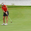 Logansport competes at the Twin Lakes sectional at Tippecanoe Country Club in Monticello on Monday, Sept. 20, 2021.
