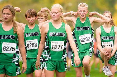 Dragons Cross Country Meet