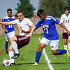 Caston competes against Winamac during the Class A sectional championship at Caston High School in Fulton on Saturday, Oct. 9, 2021.