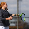 4-15-21<br /> Northwestern vs Eastern girls tennis<br /> Eastern 1 singles Addison Ream<br /> Kelly Lafferty Gerber | Kokomo Tribune