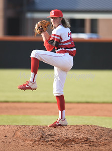 Jonny Stevens of Boyd County pitches against Raceland on Tuesday at Raceland.  MARTY CONLEY/ FOR THE DAILY INDEPENDENT