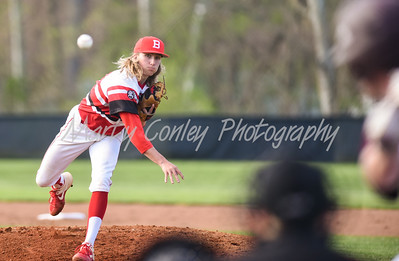 Boyd County pitcher, Jonny Stevens releases a pitch against Ashland on Monday at Ashland.  MARTY CONLEY/ FOR THE DAILY INDEPENDENT