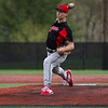 Logansport Berries pitcher Brennan Goforth (11) throws a pitch during the fifth inning of a game between the Logansport Berries and Twin Lakes Indians on Saturday, April 10, 2021 in Logansport.