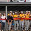 Pioneer Panthers player celebrate after a play during the first inning of the sectional championship between the Southwood Knights and Pioneer Panthers on Monday, May 31, 2021 in Fulton.