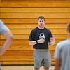 High school athletes from across the state attend a basketball camp hosted by Nate Champion, head coach at Le Moyne College and former Logansport Berry, at the Berry Bowl in Logansport on Tuesday, July 20, 2021.