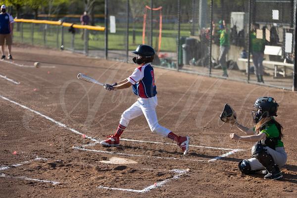4.17.2021 - Columbia County Baseball vs Cleveland Warriors (U12). NW Nations Gand Slam Tournament.  Gordon Faber/Hillsboro Stadium Complex & Area Fields, Hillsboro Oregon USA