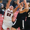1-5-21<br /> Taylor vs Delphi girls basketball<br /> Taylor's Alexandra Collins goes after a rebound.<br /> Kelly Lafferty Gerber | Kokomo Tribune