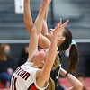 1-5-21<br /> Taylor vs Delphi girls basketball<br /> Taylor's Emma Good goes after a rebound.<br /> Kelly Lafferty Gerber | Kokomo Tribune