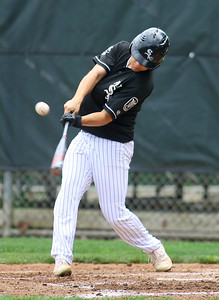 7-17-21 Kokomo Post 6 baseball Isaac Guffey bats. Kelly Lafferty Gerber | Kokomo Tribune
