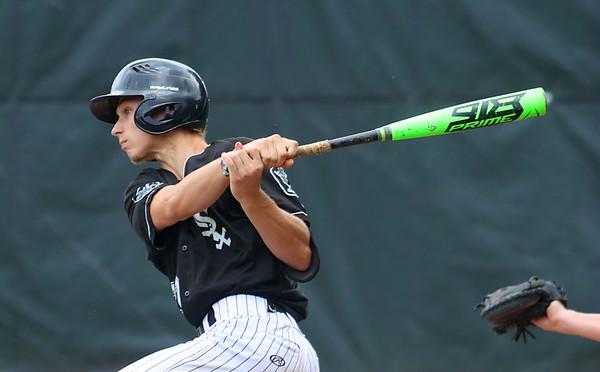 7-17-21 Kokomo Post 6 baseball Taylor Duncan bats. Kelly Lafferty Gerber | Kokomo Tribune