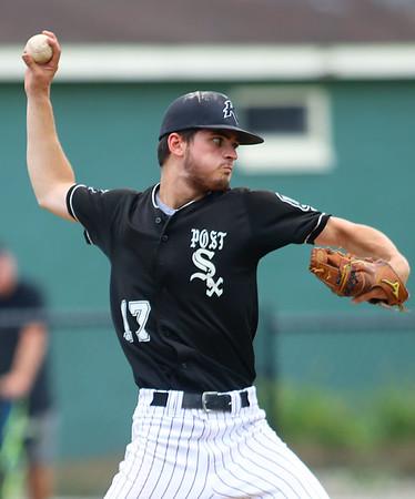 7-17-21 Kokomo Post 6 baseball Cameron Arcari pitches. Kelly Lafferty Gerber | Kokomo Tribune