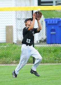 7-17-21 Kokomo Post 6 baseball Taylor Duncan makes a catch for an out. Kelly Lafferty Gerber | Kokomo Tribune