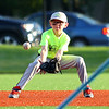 Russiaville's All-Seasons Contracting defeated Greentown's Bill's Lawn Care 12-2 for the Rookie Tournament Championship at Championship Park on Wednesday, June 9, 2021.<br /> Kelly Lafferty Gerber | Kokomo Tribune